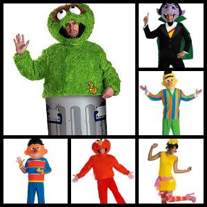 sesame street costume ideas