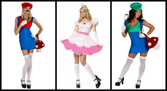 sexy mario costumes