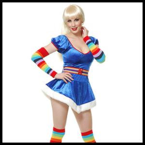 sexy rainbow brite
