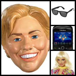 texts from Hillary costume