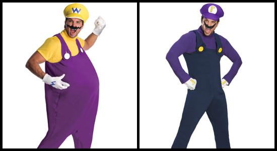 How to Create a Mario Kart Costume - Halloween Costumes BlogWaluigi And Wario Costumes