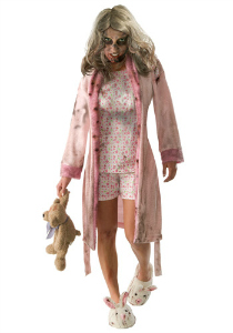 walking dead girl zombie costume