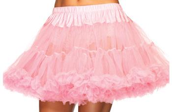 pink tulle petticoat