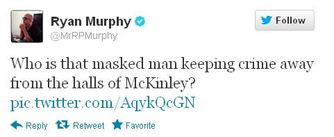 Ryan Murphy costume spoiler tweet