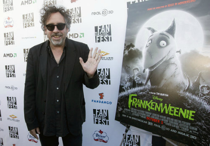 tim burton and frankenweenie