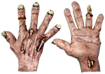 zombie flesh hands