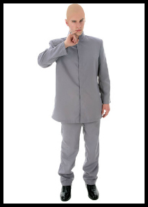 dr no bond villain costume