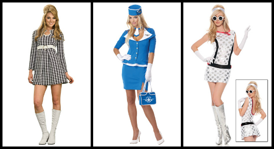 mod bond girl costumes