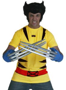 Wolverine Costume T-Shirt