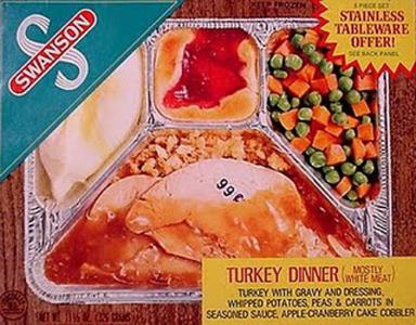 Turkey TV dinner