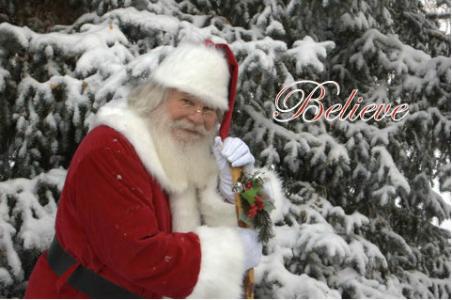 believe santa claus
