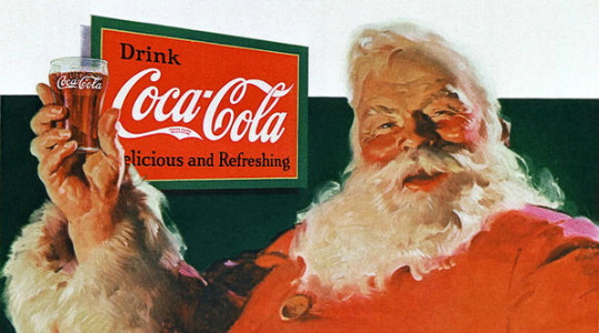 Coca Cola Santa Suit