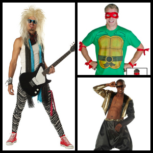 mens 80s costumes