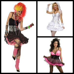 womens 80s costumes