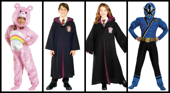 kids movie costumes