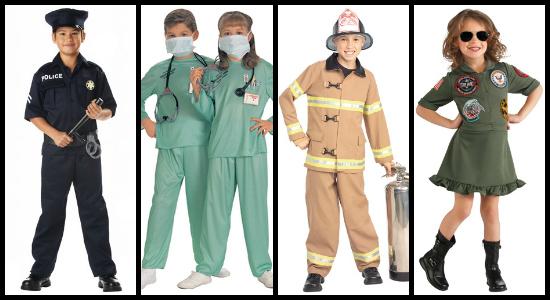 kids everyday hero costumes