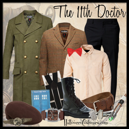 Doctor Who fashion inspiration for men