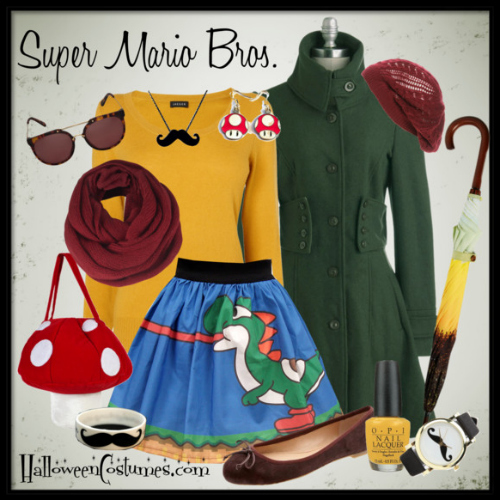 Mario Brothers fashion inspiration
