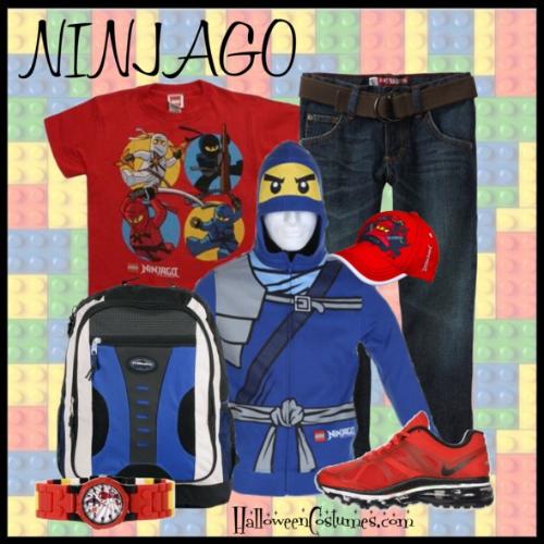 Ninjago hoodie for boys