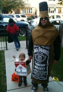 Alcohol and Cigarettes costume