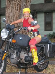 Female Hulk Hogan costume