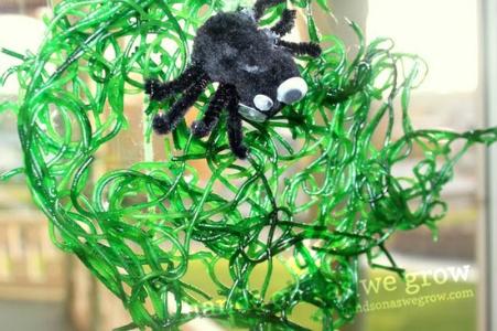 Spaghetti Spider Webs