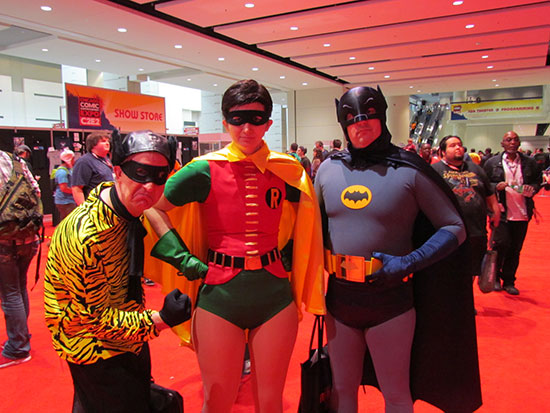 Retro Batman Group at C2E2