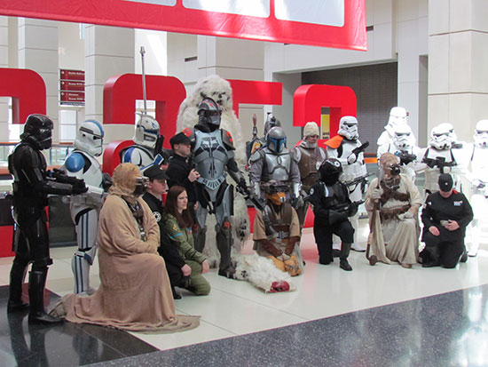 Star Wars Costumes at C2E2