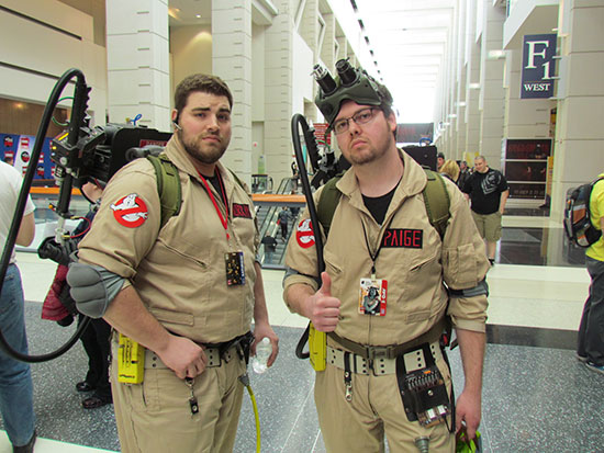 Ghostbuster Duo at C2E2