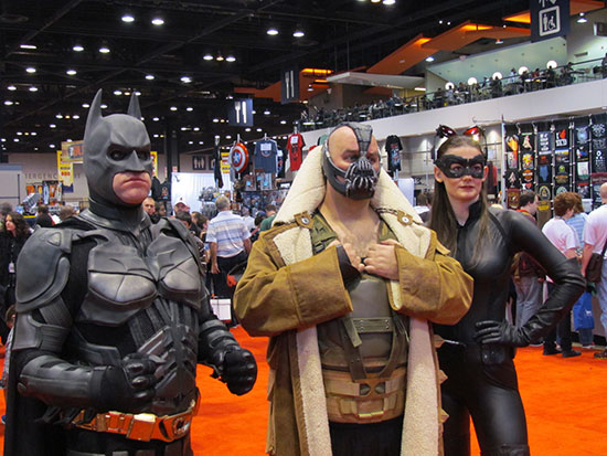 Modern Batman Costumes at C2E2