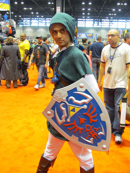 Link costume at C2E2