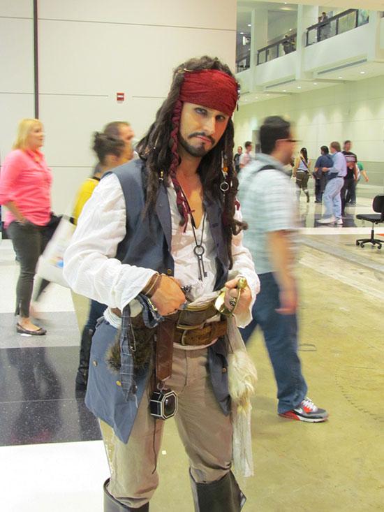 C2E2 Jack Sparrow Costume