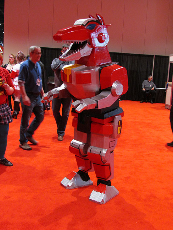 Red Ranger Morph Costume C2E2
