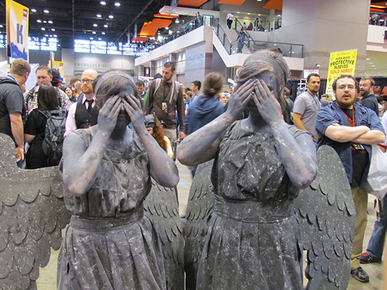 C2E2 Weeping Angels