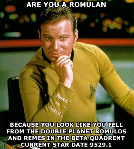 Romulan Kirk Meme