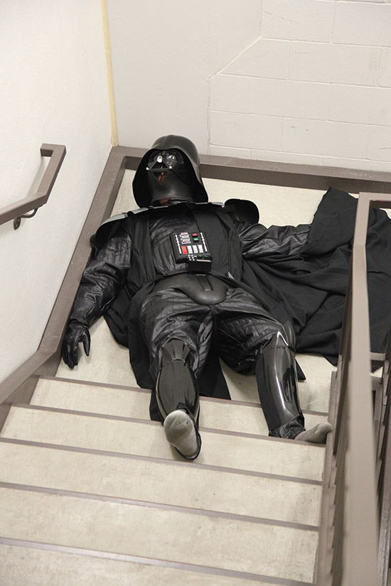 Hungover Vader