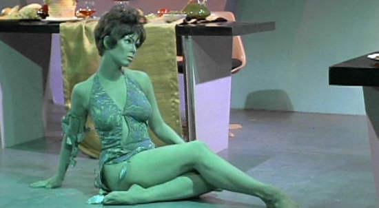 Star Trek Green Alien