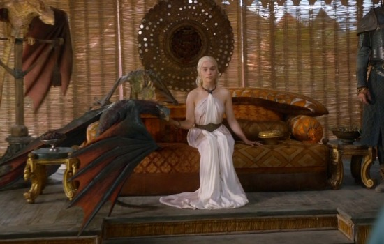 Khaleesi from Game of Thrones