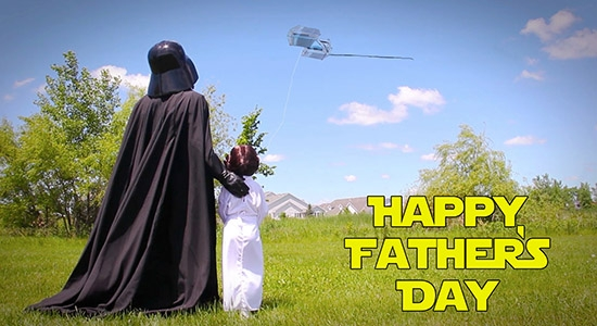 Happy Father's Day Star Wars Style