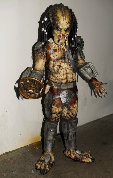 Cool Predator cosplay