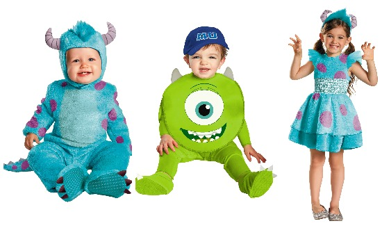 monsters university kids costumes - Monsters Inc Baby Halloween Costumes