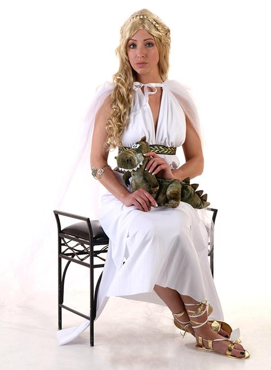 Diy daenerys targaryen game of thrones costume halloween diy game of thrones costume solutioingenieria Choice Image