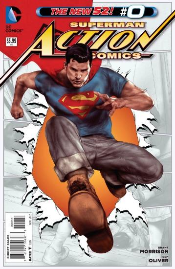 Superman Action Comics Cover