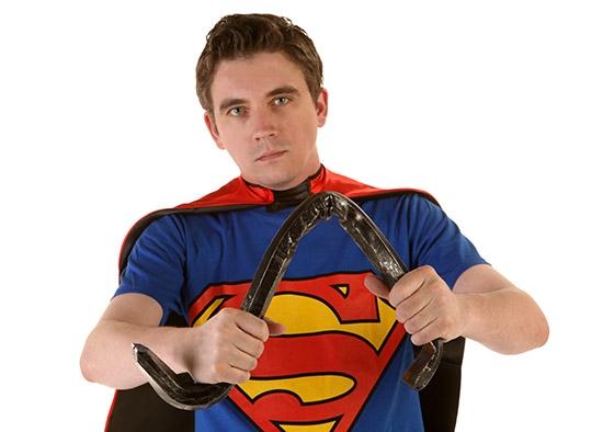 Superman Steel Bar Bend