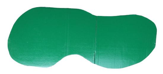 Green Army Man Cardboard Base