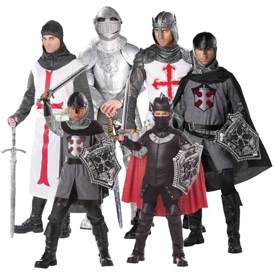 Knight Renaissance Group Costume