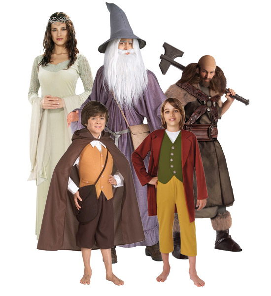 Lord of the Rings Renaissance Group Costume