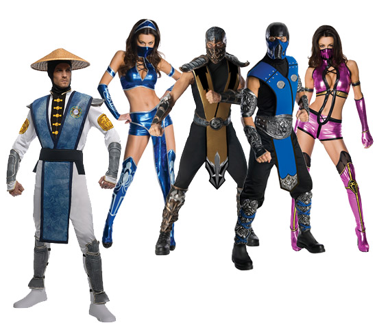 Mortal Kombat Group Costumes