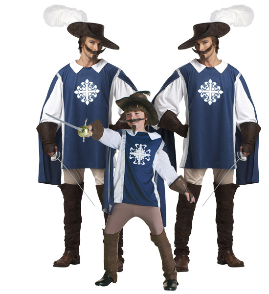 Musketeer Group Costume Idea
