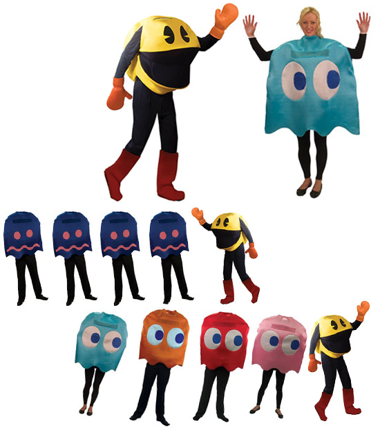 Pac Man Group Costumes